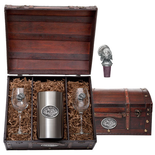 TURKEYS WINE CHEST SET