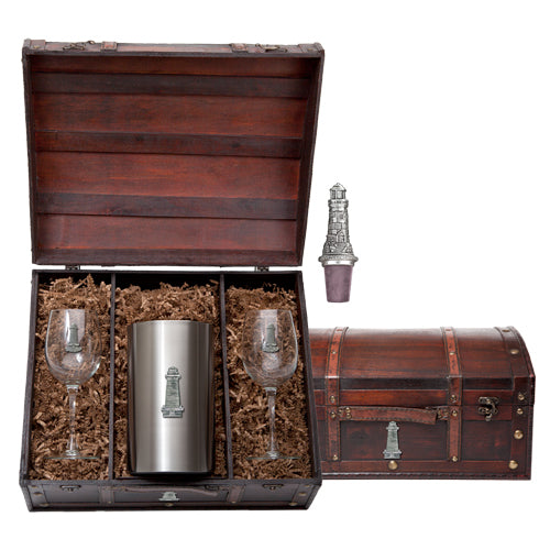 LIGHTHOUSE WINE CHEST SET