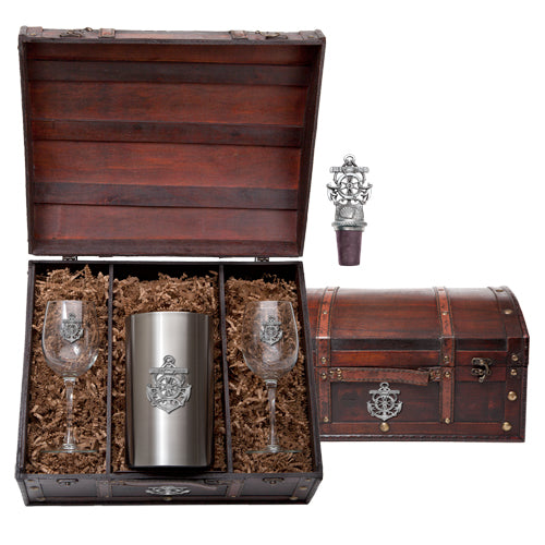 ANCHOR WINE CHEST SET