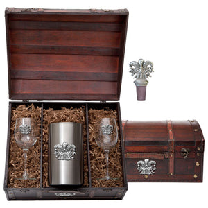MASK WINE CHEST SET
