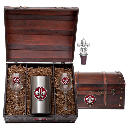 FLEUR DE LIS #2 WINE CHEST SET