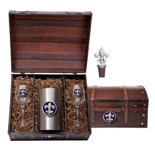 FLEUR DE LIS #3 WINE CHEST SET