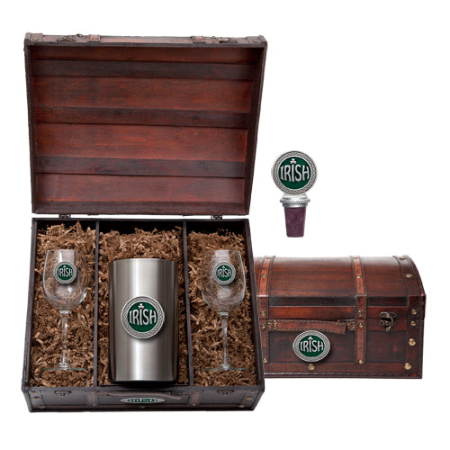 IRISH WINE CHEST SET
