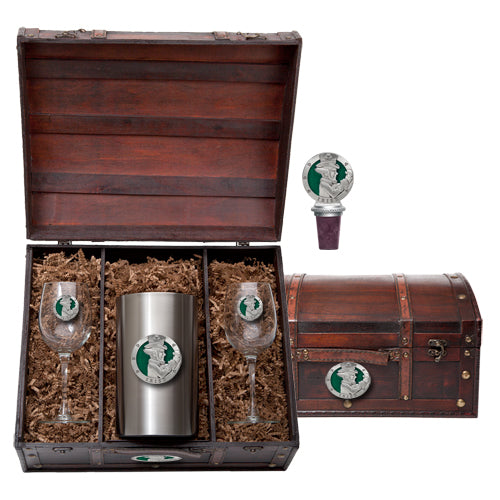 IRISH FIGHTER WINE CHEST SET