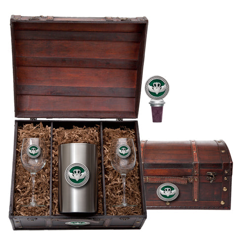 CLADDAGH WINE CHEST SET
