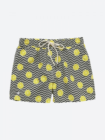 OAS _ Black Lemon Swimshorts Boy Outfit