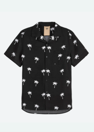 OAS _ Black Palm Shirt Boy Outfit