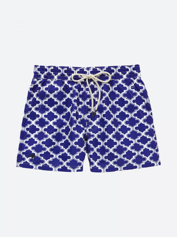 OAS _ Blue Morrocco Swimshorts Boy Outfit