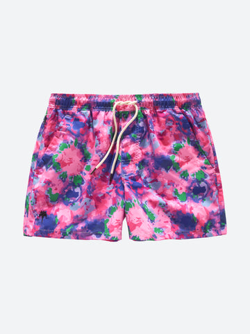 OAS _ Purple Tie Swimshorts Boy Outfit