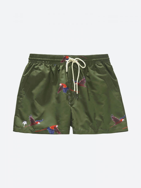 OAS _ Army & Fly Swimshorts