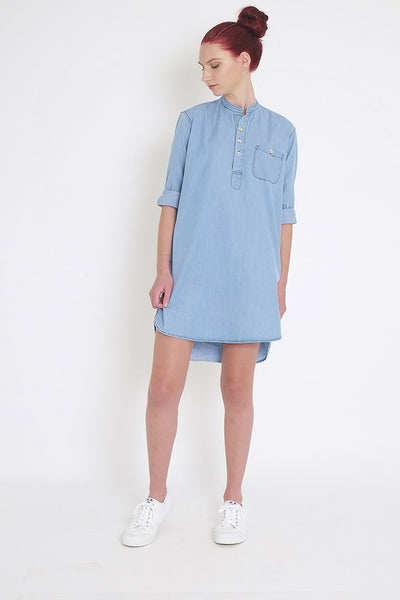 Ethel Long Sleeve Shirt Dress