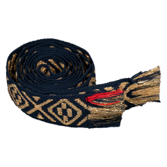 The Lurex XXX in Navy & Gold