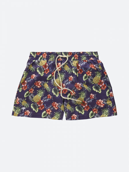 OAS _ Pineapple Flower Swimshorts