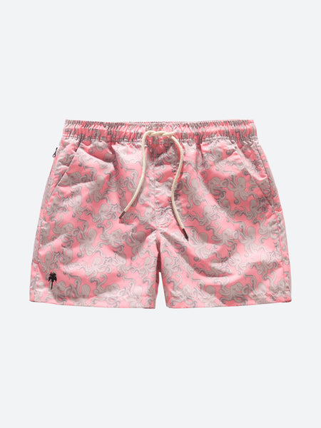 OAS _ Pink Octo Swimshorts