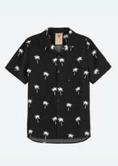 OAS _ Black Palm Shirt