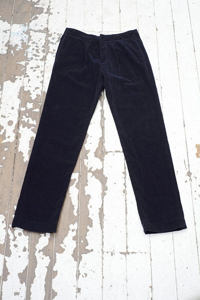 The WALTER Trouser in Navy Cord
