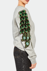 RAGYARD_Peacock Sweat_Grey