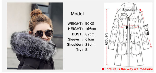 womens winter jackets and coats 2019 Parkas for women 4 Colors Wadded Jackets warm Outwear With a Hood Large Faux Fur Collar  BLJC2019034