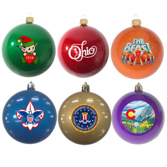 Custom Promotional Shatterproof Ornaments