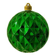 "6"" (150mm) Shatterproof Shapes Ornament Assortment, Red/Green/Gold, 1/Ea, 16/Case, 16 Pieces - Christmas by Krebs Wholesale"