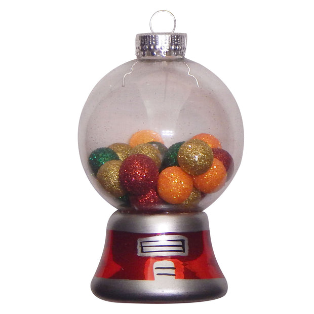 "3 3/4"" (95mm) Gumball Machine Figurine Ornaments, 1/Box, 6/Case, 6 Pieces"