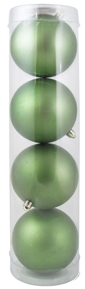 "4"" (100mm) Large Commercial Shatterproof Ball Ornament, Krypton, Case, 48 Pieces - Christmas by Krebs Wholesale"