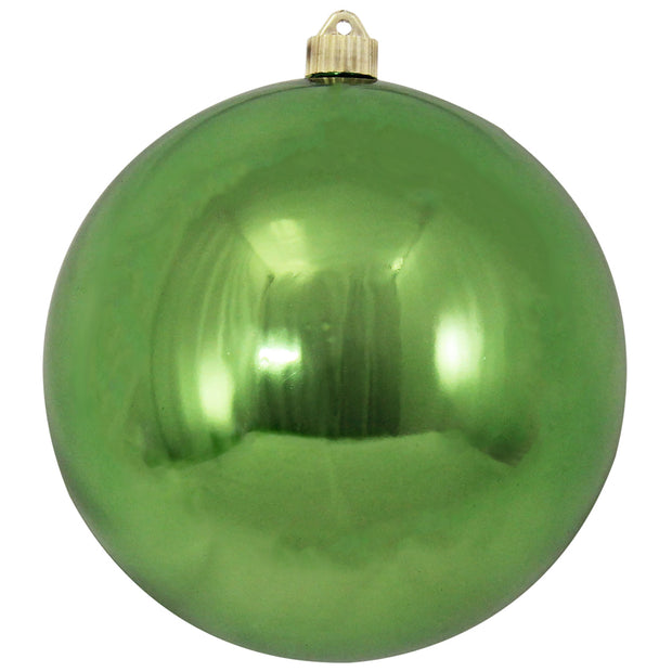 "8"" (200mm) Giant Commercial Shatterproof Ball Ornament, Limeade, Case, 6 Pieces - Christmas by Krebs Wholesale"
