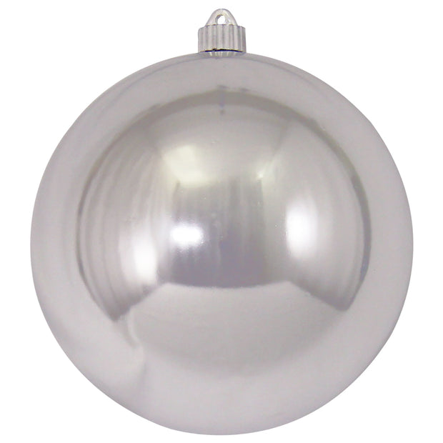 "8"" (200mm) Giant Commercial Pre-Wired Shatterproof Ball Ornament, Looking Glass, Case, 6 Pieces - Christmas by Krebs Wholesale"