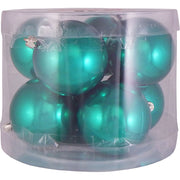 "3 1/4"" (80mm) Commercial Pre-Wired Shatterproof Ball Ornament, Blarney, Case, 80 Pieces"