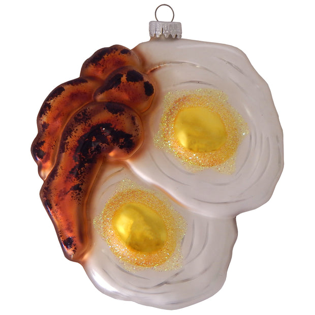 "5"" (127mm) Bacon and Eggs Figurine Ornaments, 1/Box, 6/Case, 6 Pieces"