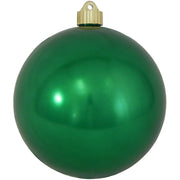 "6"" (150mm) Giant Commercial Pre-Wired Shatterproof Ball Ornament, Blarney, Case, 12 Pieces"