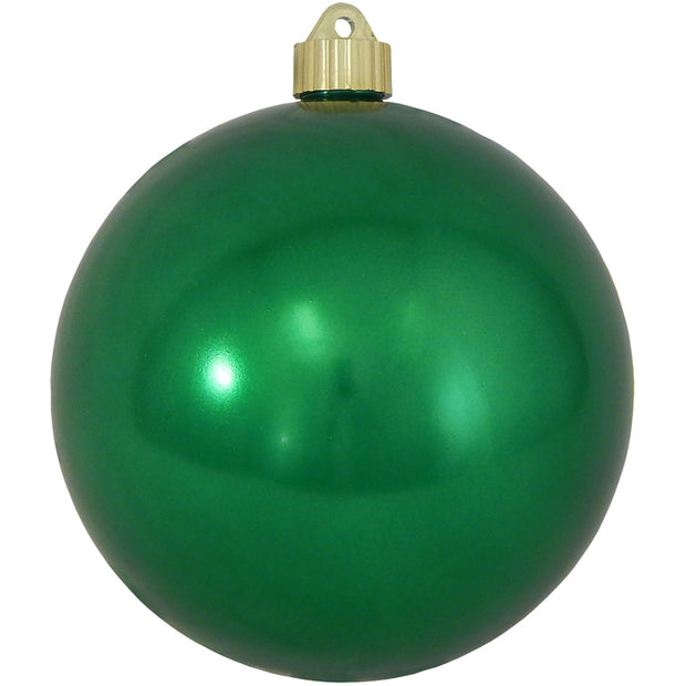 "6"" (150mm) Giant Commercial Pre-Wired Shatterproof Ball Ornament, Blarney, Case, 12 Pieces - Christmas by Krebs Wholesale"