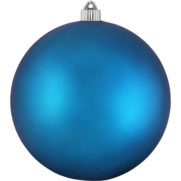 "8"" (200mm) Giant Commercial Shatterproof Ball Ornament, Aloha, Case, 6 Pieces"