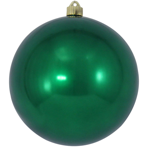 "8"" (200mm) Giant Commercial Pre-Wired Shatterproof Ball Ornament, Blarney, Case, 6 Pieces - Christmas by Krebs Wholesale"