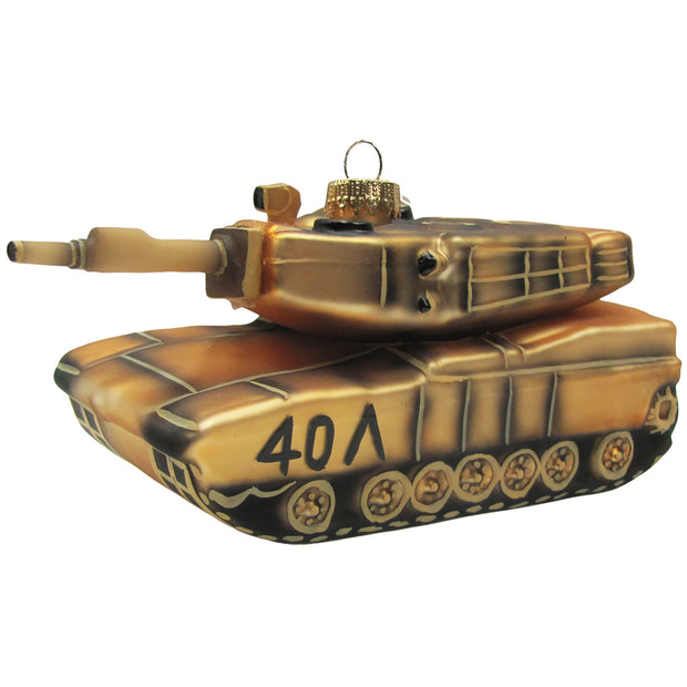 "5 3/4"" (146mm) Army Tank Figurine Ornaments, 1/Box, 6/Case, 6 Pieces - Christmas by Krebs Wholesale"