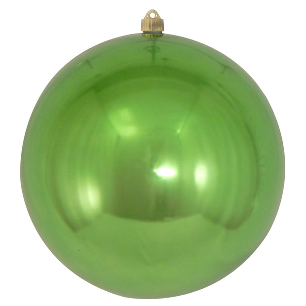 "12"" (300mm) Giant Commercial Shatterproof Ball Ornament, Limeade, Case, 2 Pieces"