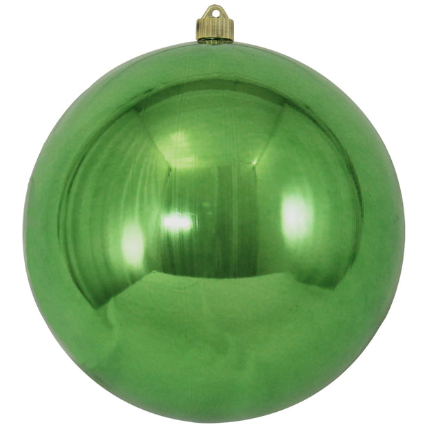 "10"" (250mm) Giant Commercial Shatterproof Ball Ornament, Limeade, Case, 4 Pieces   Christmas by Krebs Wholesale"