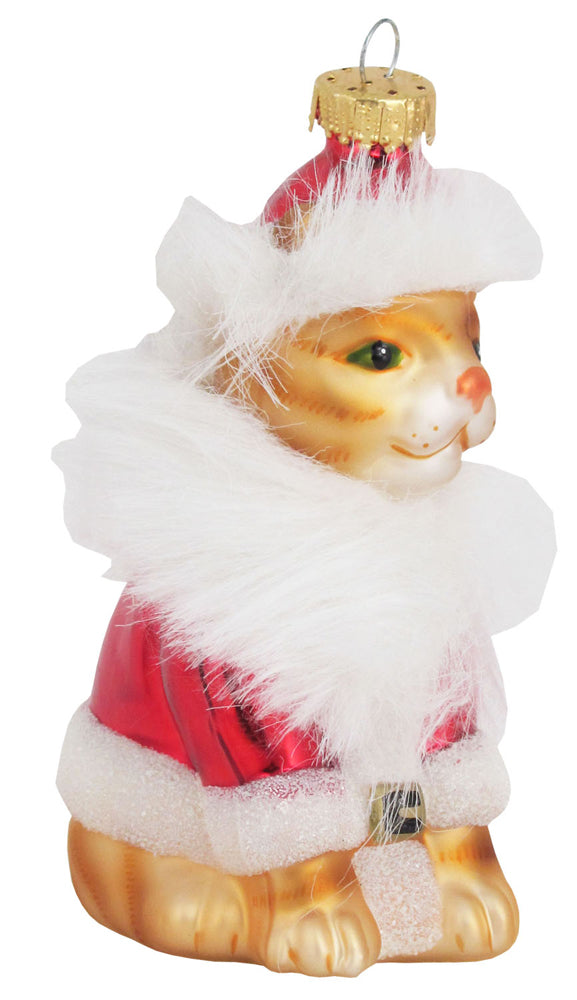 "4 1/4"" (108mm) Santa Claws Figurine Ornaments, 1/Box, 6/Case, 6 Pieces"