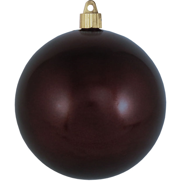 "4 3/4"" (120mm) Jumbo Commercial Shatterproof Ball Ornament, Hot Java, Case, 36 Pieces"