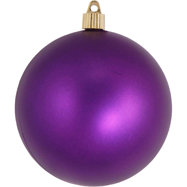 "4 3/4"" (120mm) Jumbo Commercial Shatterproof Ball Ornament, Diva, Case, 36 Pieces - Christmas by Krebs Wholesale"