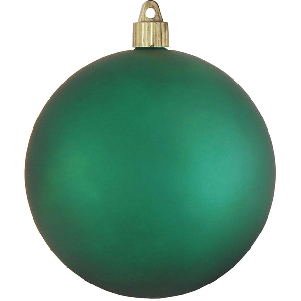 "4 3/4"" (120mm) Jumbo Commercial Shatterproof Ball Ornament, Shamrock, Case, 36 Pieces"