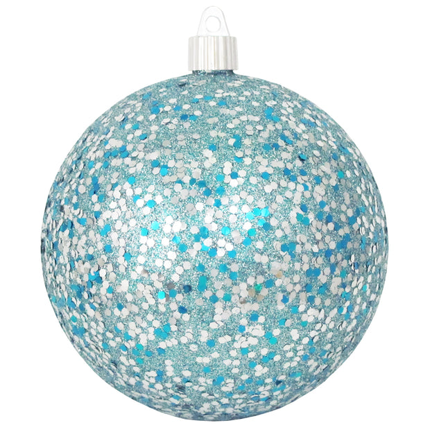 "4 3/4"" (120mm) Jumbo Commercial Shatterproof Ball Ornament, Multicolor, Case, 36 Pieces   Christmas by Krebs Wholesale"