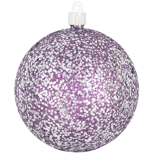 "4 3/4"" (120mm) Jumbo Commercial Shatterproof Ball Ornament, Multicolor, Case, 36 Pieces - Christmas by Krebs Wholesale"