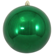 "10"" (250mm) Giant Commercial Pre Wired Shatterproof Ball Ornament, Blarney, Case, 4 Pieces - Christmas by Krebs Wholesale"