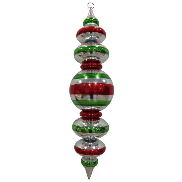 "40"" Giant Commercial Shatterproof Finials, Looking Glass , Case, 1 Pieces - Christmas by Krebs Wholesale"