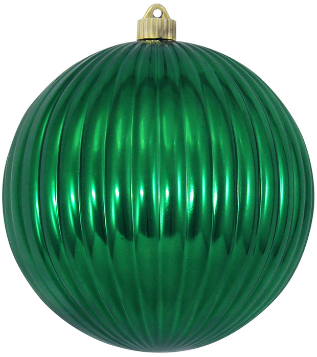 "8"" (200mm) Giant Commercial Shatterproof Ball Ornament, Blarney, Case, 6 Pieces - Christmas by Krebs Wholesale"