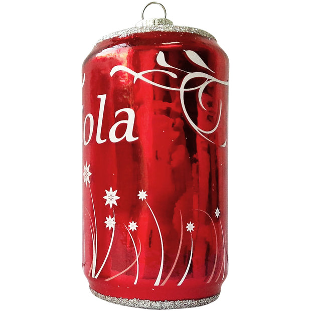 "4 1/4"" (108mm) Cola Can Figurine Ornaments, 1/Box, 6/Case, 6 Pieces - Christmas by Krebs Wholesale"