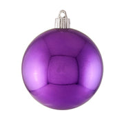 "4"" (100mm) Large Commercial Shatterproof Ball Ornament, Rhapsody, Case, 48 Pieces - Christmas by Krebs Wholesale"