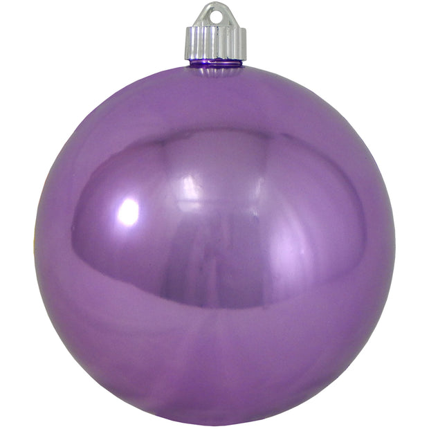 "6"" (150mm) Large Commercial Shatterproof Ball Ornaments, Rhapsody Purple, 1/Box, 12/Case, 12 Pieces - Christmas by Krebs Wholesale"