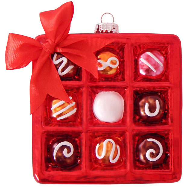 Box of Chocolates Figurine Ornaments, 1/Box, 6/Case, 6 Pieces